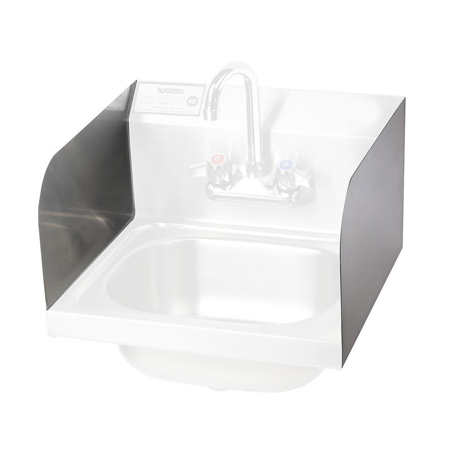 Krowne H-107 Left & Right Side Splashes For Hand Sink
