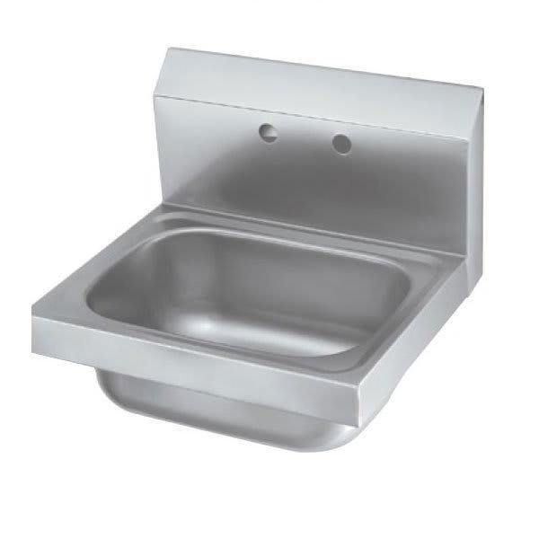 "Krowne HS-6 Wall Mount Commercial Hand Sink w/ 12.5""L x 9.75""W x 5.87""D Bowl"