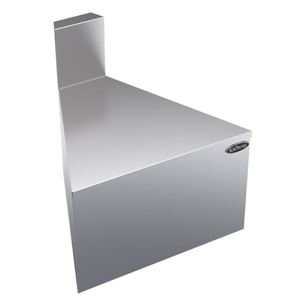 "Krowne KR18-F45 19"" Front Angle - 45 Degree, 7"" Back Splash"