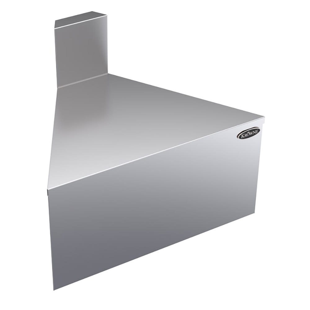 "Krowne KR18-F60 19"" Front Angle - 60 Degree, 7"" Back Splash"