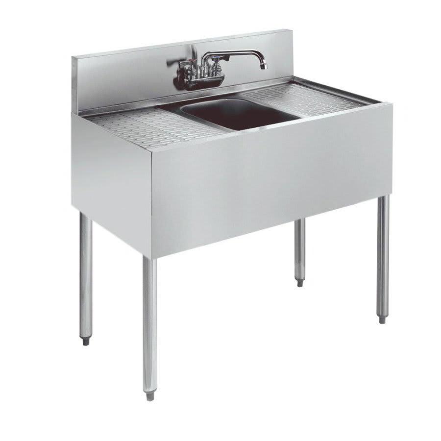 """Krowne KR21-31C 36"""" 1-Compartment Sink w/ 10""""W x 14""""L Bowl, 10"""" Deep"""