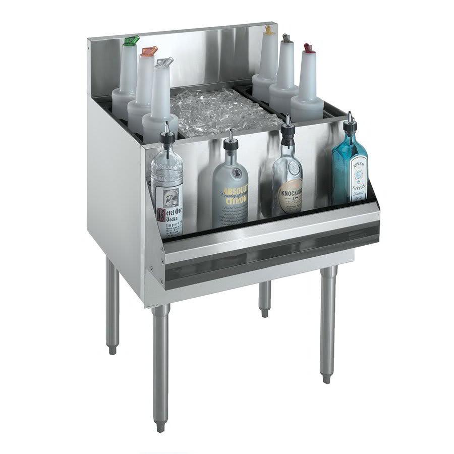 Krowne KR21-36DP Ice Bin - 138 lb Capacity, Bottle Racks, 36x21