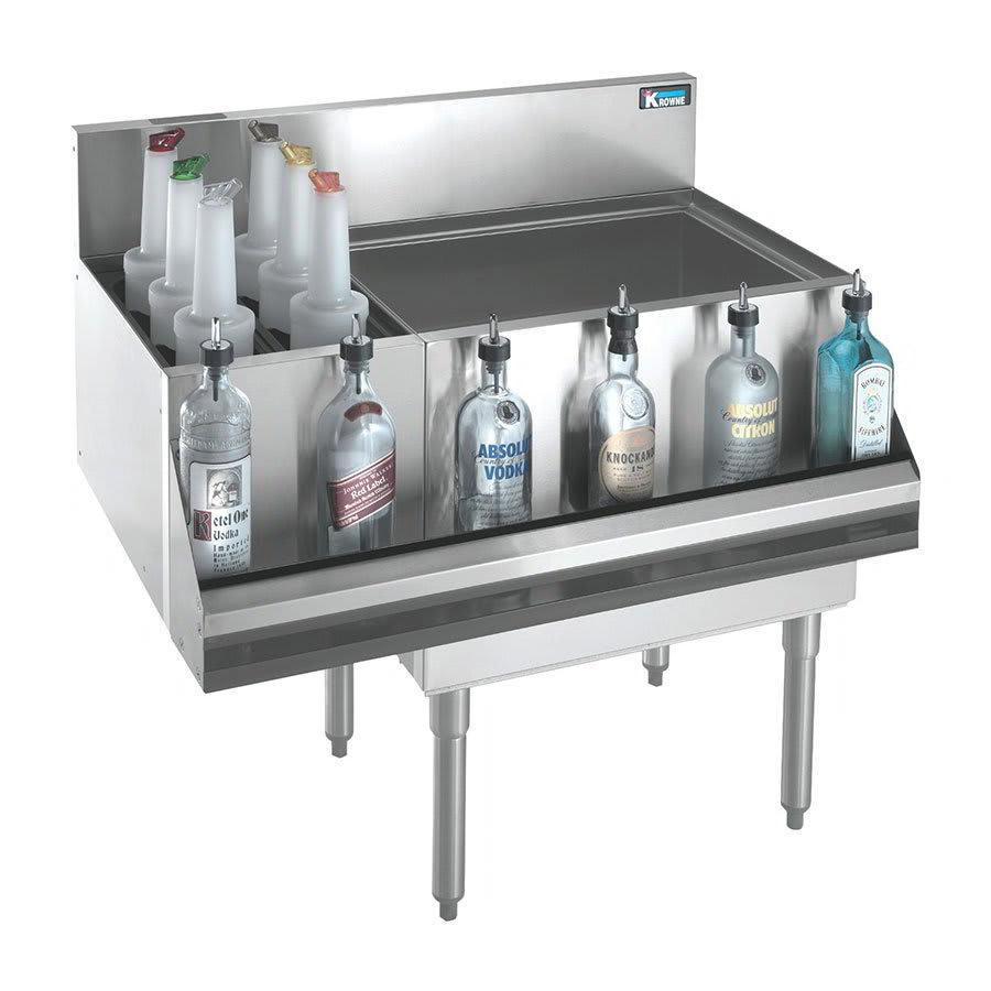 Krowne KR21-M42R Right Ice Bin/Left Bottle Section - 97-lb Capacity, 42x21