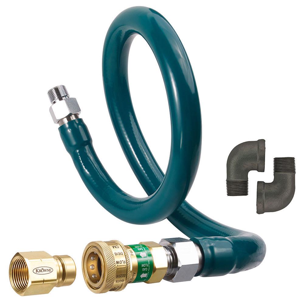 "Krowne M7536K4 36"" Gas Connector Kit w/ 3/4"" Female/Male Couplings"