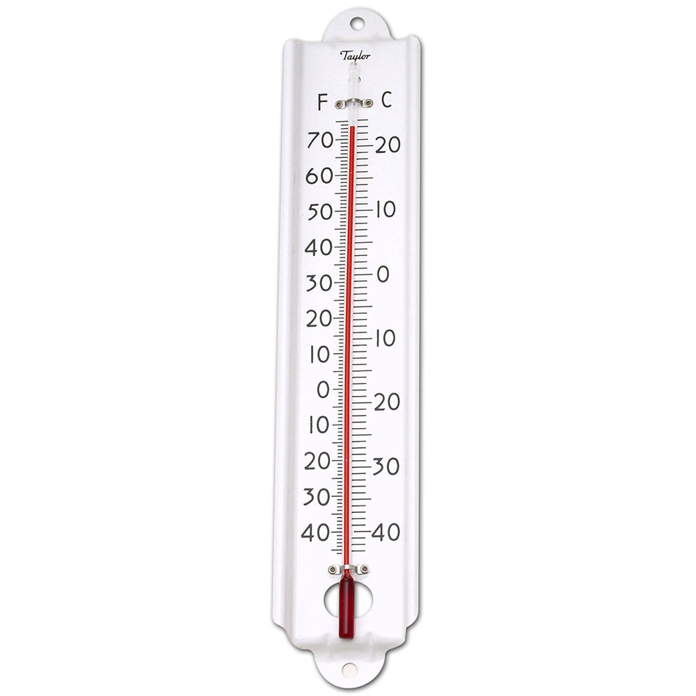 Taylor 1106J Tube Type Cold/Dry Storage Thermometer, -20 to 120 Degree Range