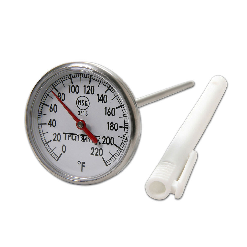 "Taylor 3515 Instant Read Thermometer w/ 1.75"" Dial, 0 to 220 F Degrees"