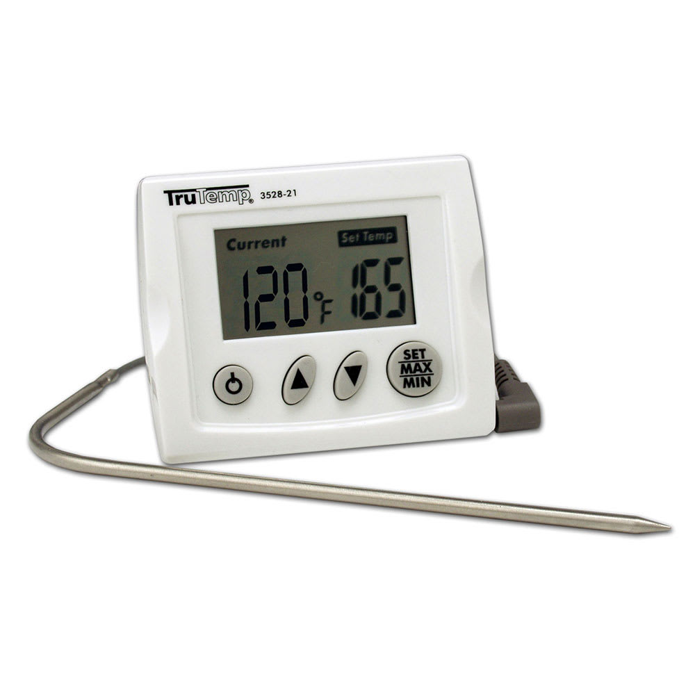 Taylor 3518N Digital Cooking Thermometer w/ On & Off Switch, 32 to 392 F Degrees