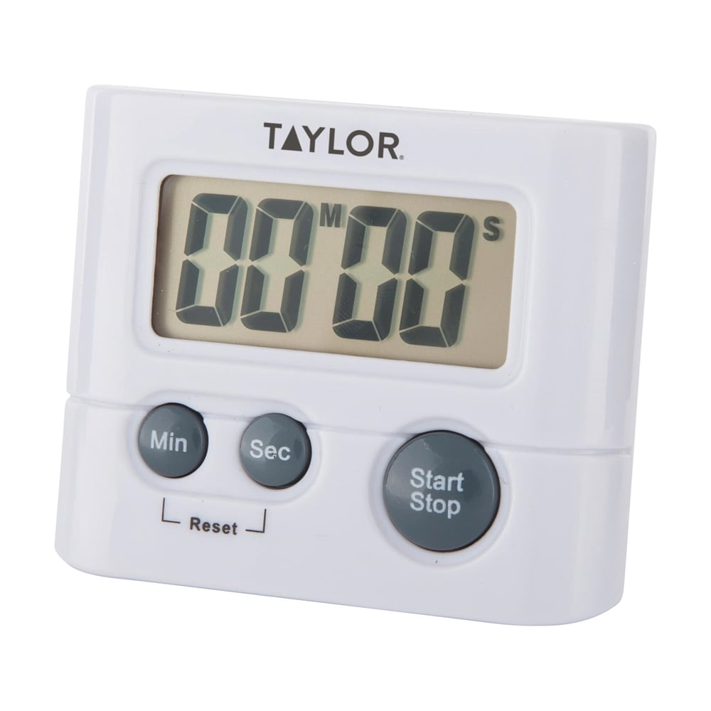 taylor 582721 digital timer w 75 lcd readout minute second timing