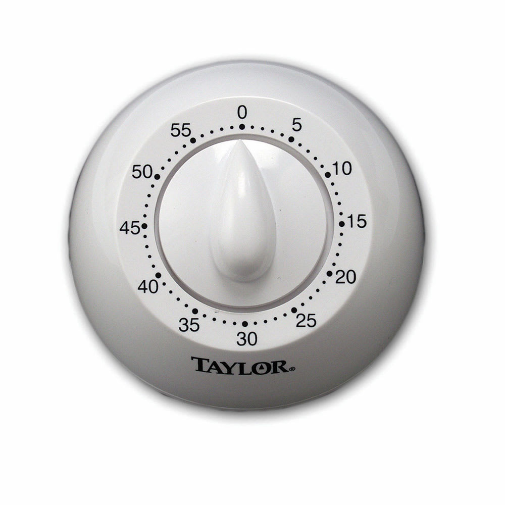 Taylor 5832 60 Minute Manual Timer w/ Long Ring
