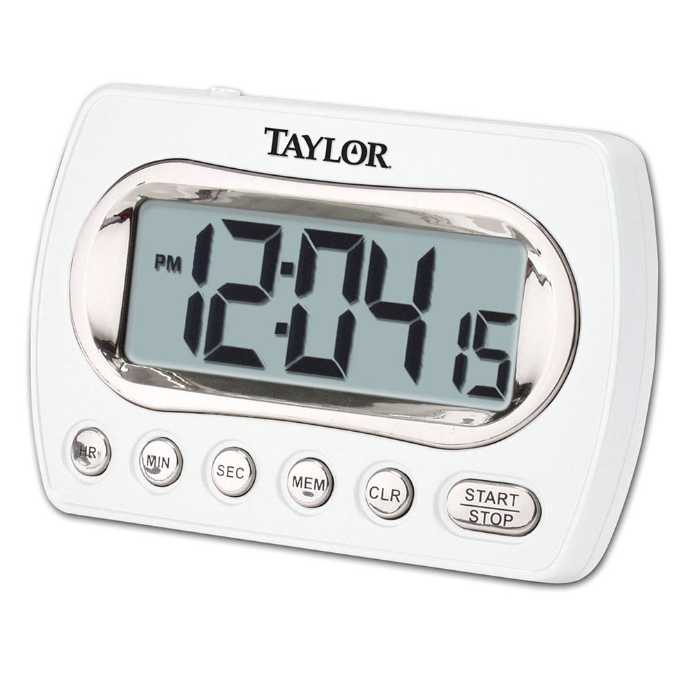 Taylor 5847-21 Digital Timer LCD Readout - Up To 24 hrs, Clock Feature