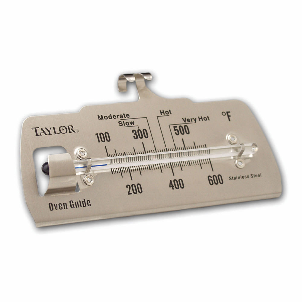Taylor 5921 Oven & Grill Thermometer, Easy to Read Face