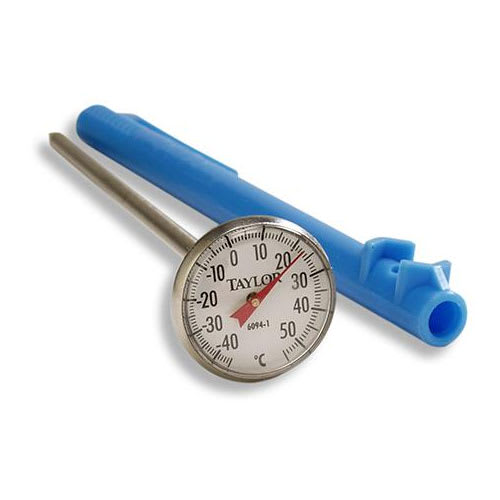 Taylor 6094N Pocket Thermometer w/ -40 to 150 C Degrees Capacity