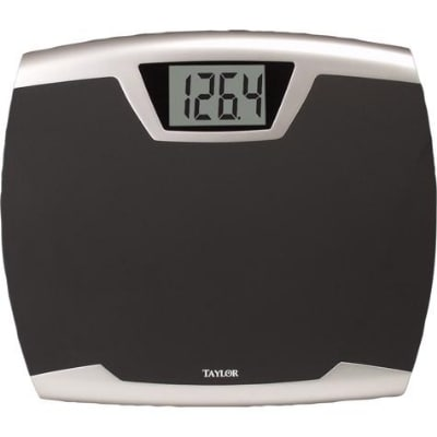 Taylor 73404072 Lithium Scale w/ 440-lb Capacity, Oversized Soft Step