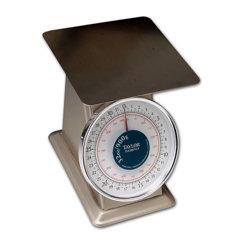 Taylor THD32D Scale, Portion, 32 oz x 1/8 oz Graduation, Platform, NSF