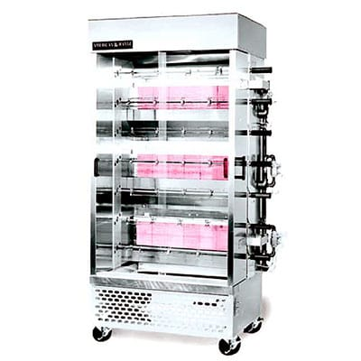 American Range ACB-7 Gas 7 Spit Commercial Rotisserie, LP