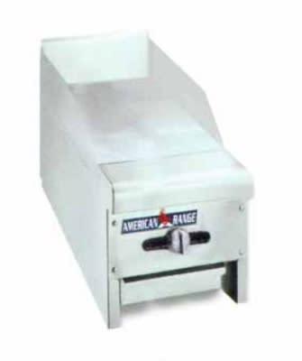 "American Range ACCG12LP 12"" Gas Griddle - Manual, 3/4"" Steel Plate, LP"