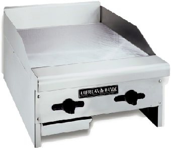 "American Range ACCG24LP 24"" Gas Griddle - Manual, 3/4"" Steel Plate, LP"