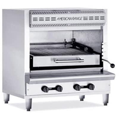 American Range AGBU-1 NG Infrared Broiler w/ 1-Deck & Stainless Exterior, 80000-BTU, NG