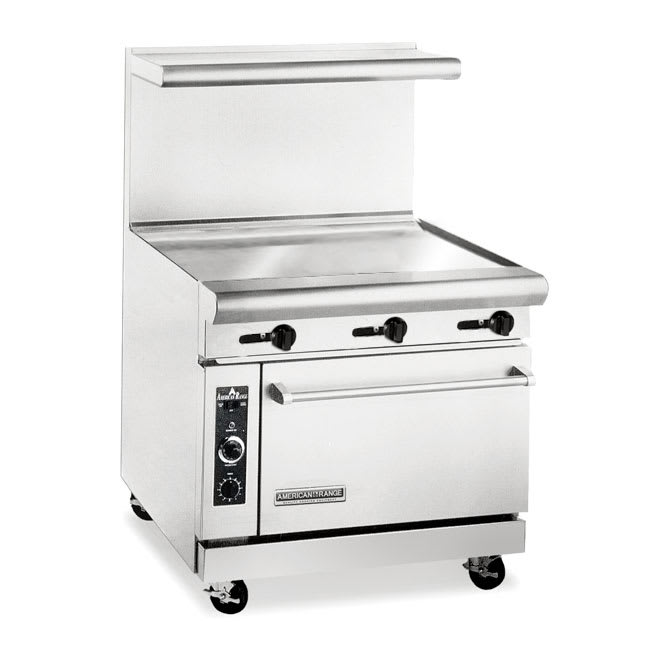 "American Range AR36G 36"" Gas Range with Griddle, NG"