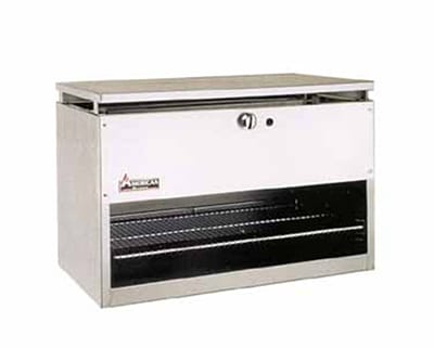 """American Range ARCM-72 72"""" Gas Cheese Melter w/ Infrared Burner, Stainless, LP"""