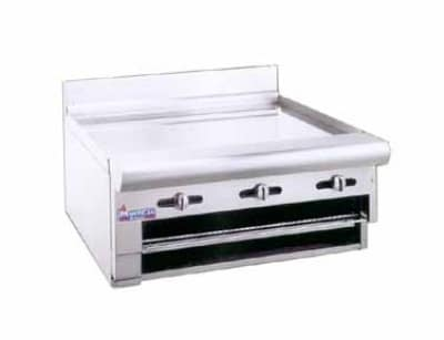 "American Range ARGB36 LP 36"" Gas Griddle - Manual, 3/4""  Plate, LP"