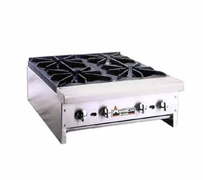 "American Range ARHP-48-8 48"" Gas Hotplate w/ (8) Burners & Manual Controls, NG"
