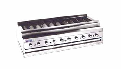 """American Range ARKB-60 60"""" Countertop Kebob Broiler w/ Heavy-Duty Radiants, 300,000 BTU, LP"""