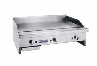 """American Range ARMG-160 LP 60"""" Gas Griddle - Manual, 1"""" Steel Plate, LP"""