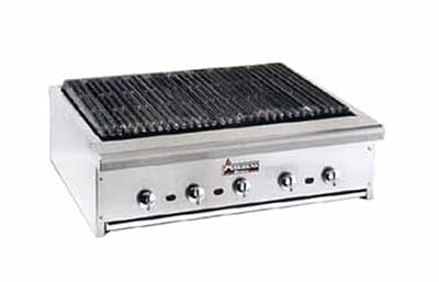 "American Range ARRB-30 30"" Counter Charbroiler w/ Heavy Duty Grates, Manual, 75000 BTU, LP"