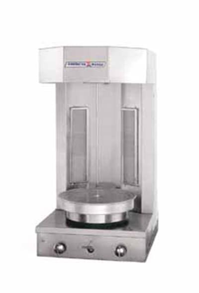 American Range AVCB2NG Vertical Broiler w/ Infrared Burner & 30 lb Capacity, NG