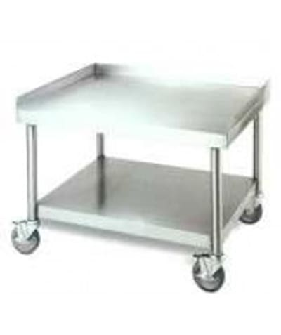 American Range ESS-74-24D Equipment Stand w/ Open Base, Stainless, 74 x 24""