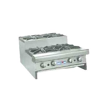 "American Range SUHP-24-4 24"" Gas Hotplate w/ (4) Burners & Manual Controls, NG"