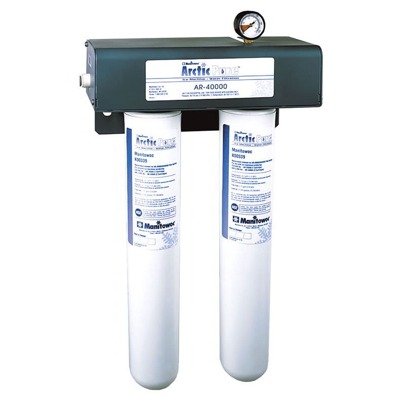 Manitowoc Ice AR-40000 Twin Primary Water Filter Cartridge Assembly, Tank