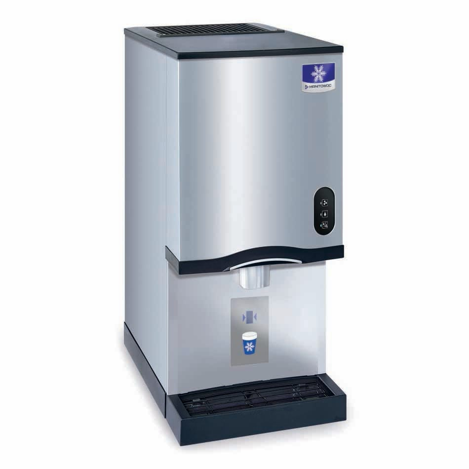 Manitowoc Ice CNF-0201A Countertop Nugget Ice Dispenser w/ 10 lb Storage - Cup Fill, 115v