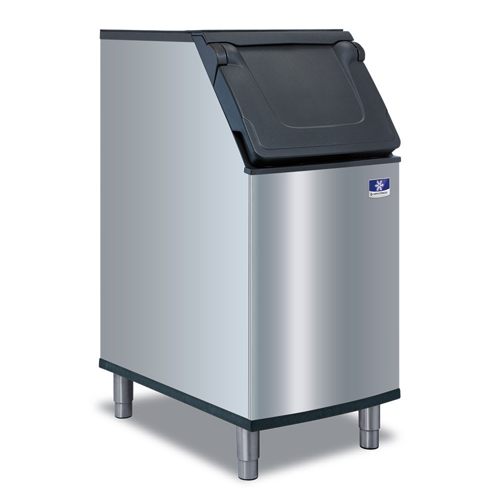"Manitowoc Ice D-320 22""W 265 lb Ice Bin w/ Lift Up Door"