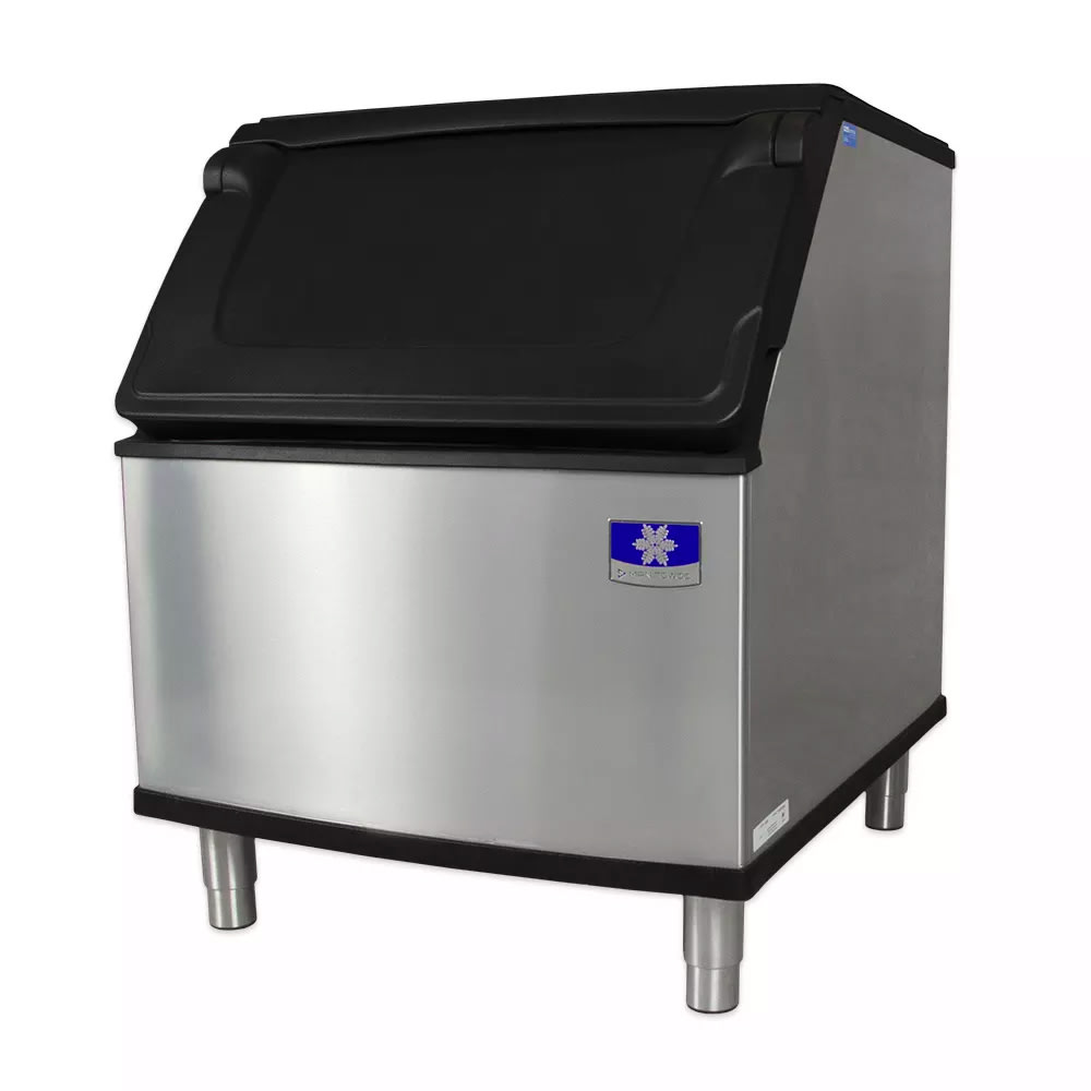 "Manitowoc Ice D-400 30"" Wide 365-lb Ice Bin w/ Lift Up Door"