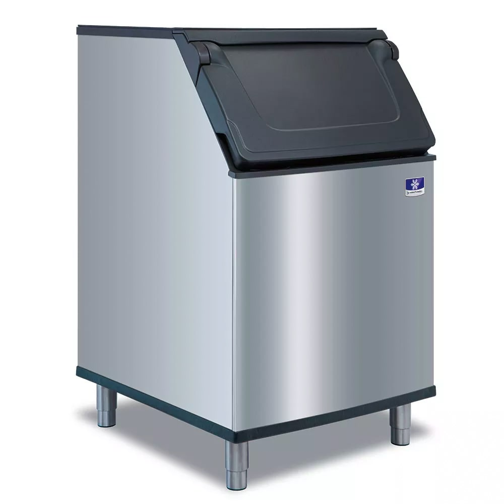 "Manitowoc Ice D-570 30""W 532 lb Ice Bin w/ Lift Up Door"