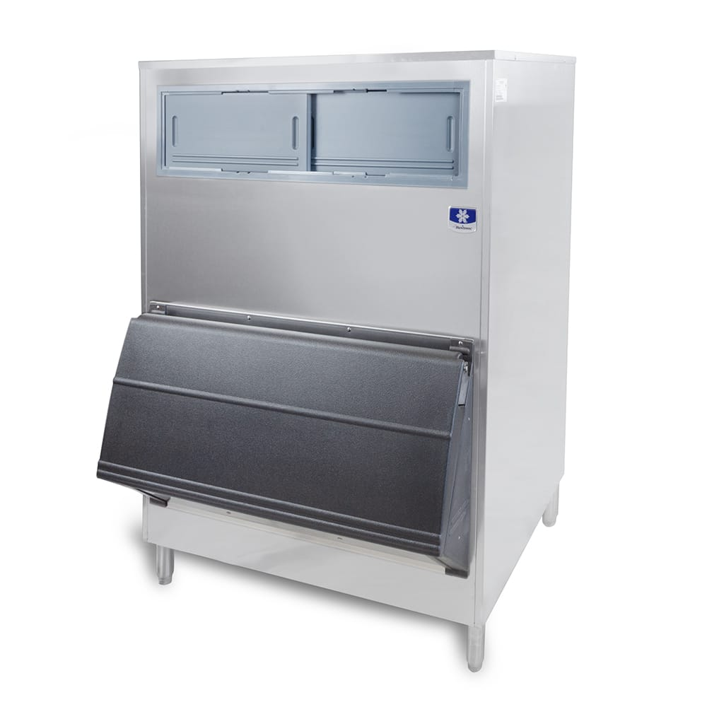 "Manitowoc Ice F-1300 48""W 1320 lb Ice Bin w/ Lift Up Door"