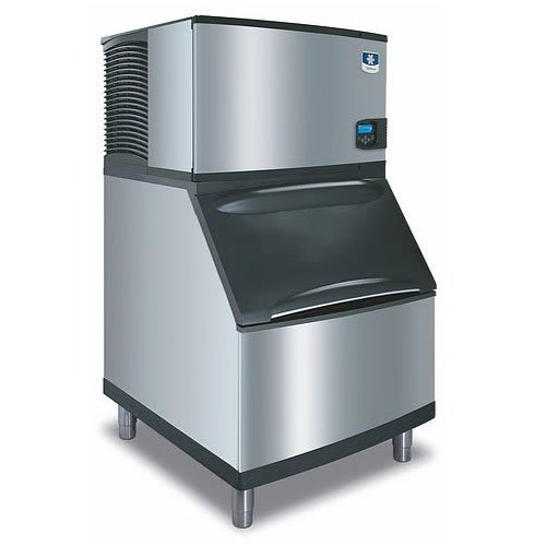 Manitowoc Ice ID-0302A-B-400 310-lb Full Cube Ice Maker w/ Bin - 290-lb Storage, Air Cooled, 115v