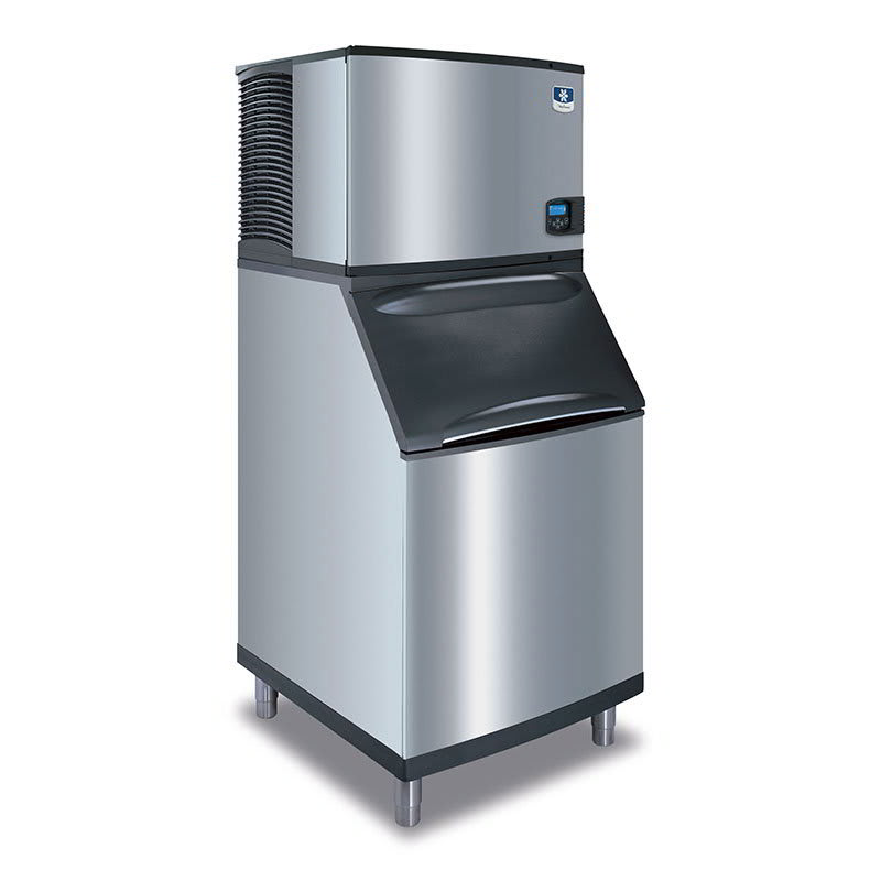 Manitowoc Ice ID-0606A-B-570 632-lb/Day Full Cube Ice Maker w/ 430-lb Bin, Air Cooled, 208v/1ph