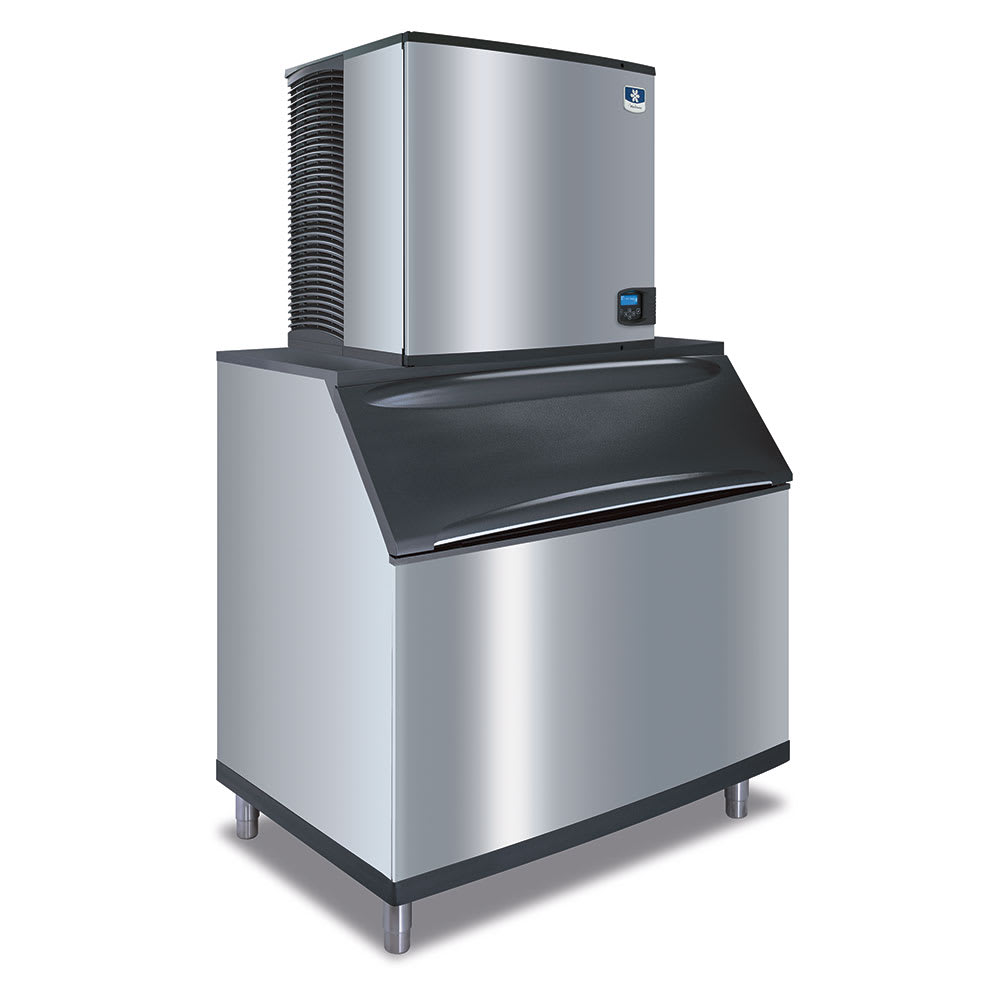 Manitowoc Ice ID-1106A-B-970 1141-lb/Day Full Cube Ice Maker w/ 710-lb Bin, Air Cooled, 208v/1ph
