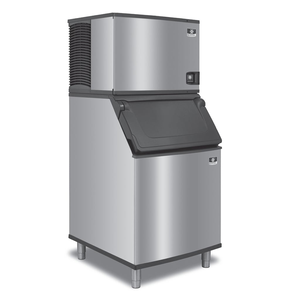 Manitowoc Ice IDF0600A/D970/K00470 632 lb Indigo NXT™ Full Cube Ice Maker w/ Bin - 882 lb Storage, Air Cooled, 208-230v/1ph