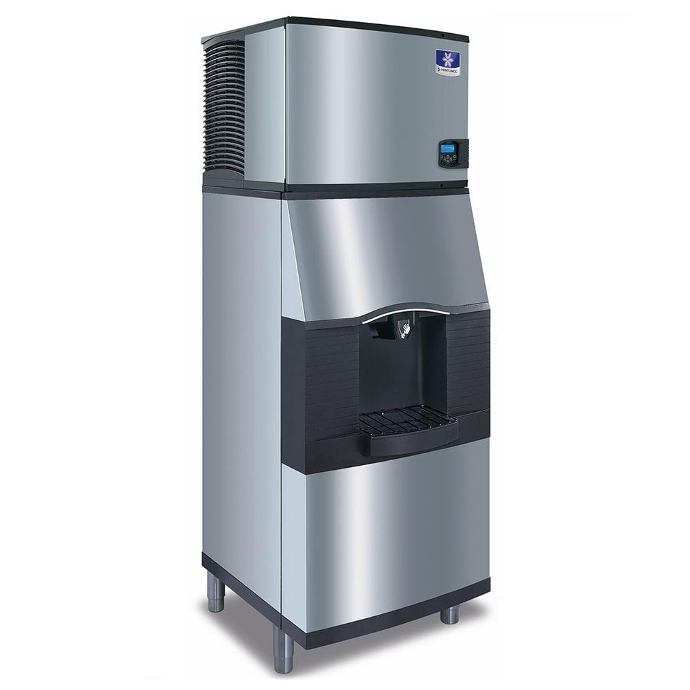 Manitowoc Ice IDT-0450A-161/SPA-310 470 lb Full Cube Ice Maker w/ Ice Dispenser - 180 lb Storage, Bucket Fill, 115v