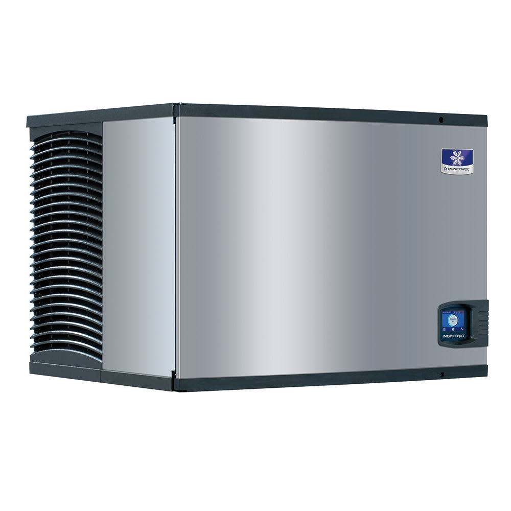 "Manitowoc Ice IDT0500A 30"" Indigo NXT™ Full Cube Ice Machine Head - 520 lb/24 hr, Air Cooled, 115v"