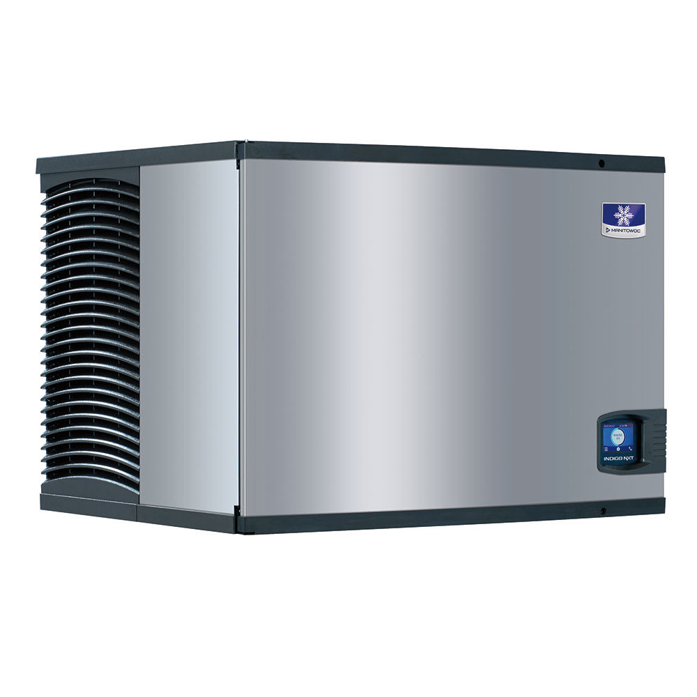 "Manitowoc Ice IDT-0500W 30"" Indigo NXT™ Full Cube Ice Machine Head - 500-lb/24-hr, Water-Cooled, 115v"