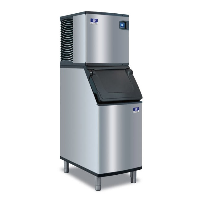 Manitowoc Ice IDT-0620A/D-420 560 lb Full Cube Ice Maker w/ Bin - 383 lb Storage, Air Cooled, 115v