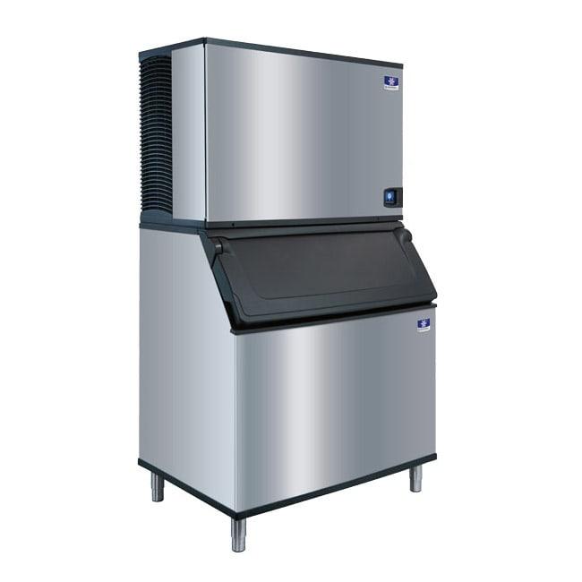 Manitowoc Ice IDT-1500A-261/D-970 1800 lb Full Cube Ice Maker w/ Bin - 882 lb Storage, Air Cooled, 208-230v/1ph
