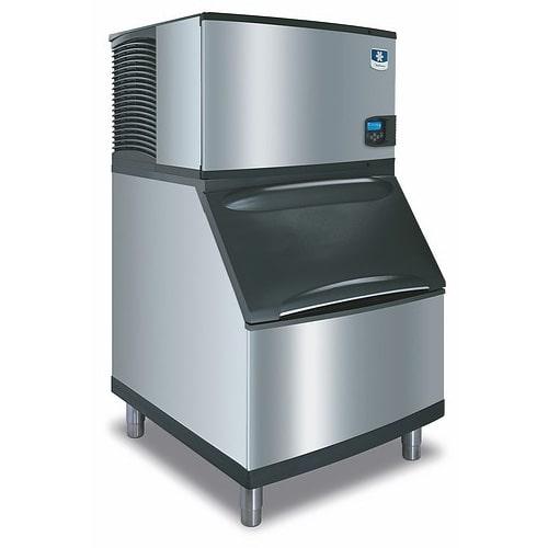 Manitowoc Ice IY-0304A/D-400 310 lb Half Cube Ice Maker w/ Bin - 365 lb Storage, Air Cooled, 115v