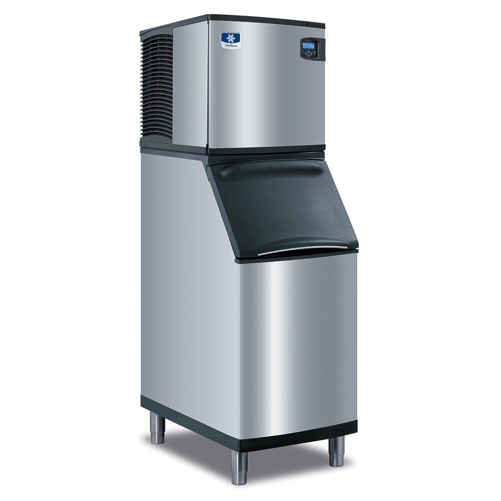 Manitowoc Ice IY-0324A-B-420 350-lb/Day Half Cube Ice Maker w/ 310-lb Bin, Air Cooled, 115v