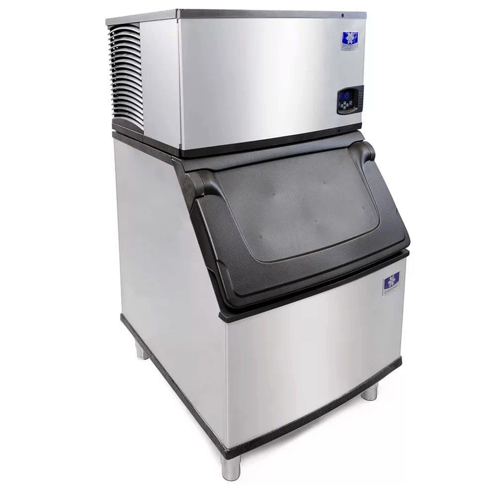 Manitowoc Ice IY-0606A-261/D-400 635 lb Half Cube Ice Maker w/ Bin - 365 lb Storage, Air Cooled, 208-230v/1ph